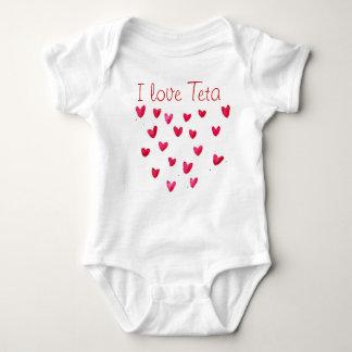 I love Teta Baby Bodysuit