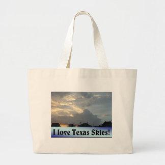 I Love Texas Skies! Tote Bag