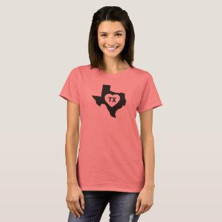 I Love Texas State Women's Basic T-Shirt