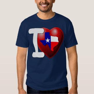 I Love Texas - The Lone Star State Tshirts