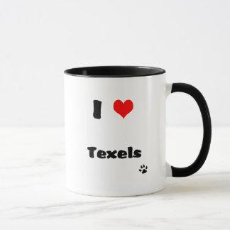 I Love Texels Guinea PIg Mug