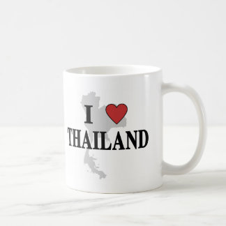 I Love Thailand Coffee Mug