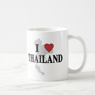 I Love Thailand Coffee Mug