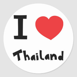 I love Thailand Stickers