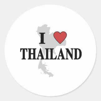 I Love Thailand Sticker
