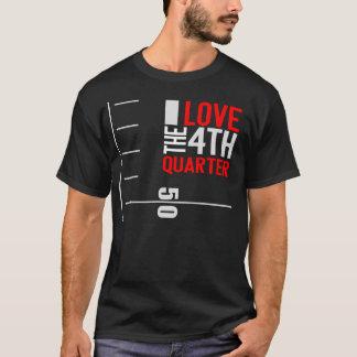 I Love the 4th Quarter BLACK T-Shirt