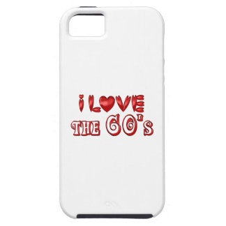 I Love the 60's iPhone 5 Covers
