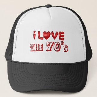 I Love the 70's Trucker Hat