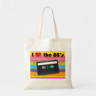 I Love the 80 s Tote Bags