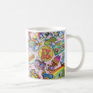 I love the 80s - 1980s Swag Coffee Mug
