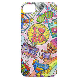 I love the 80s - 1980s Swag iPhone 5 Cover