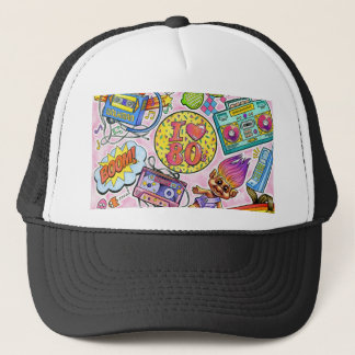 I love the 80s - 1980s Swag Trucker Hat