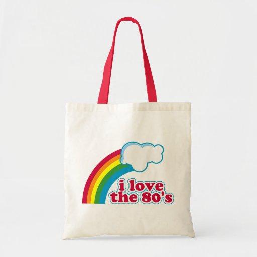I Love The 80's Bag