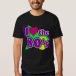 I Love the 80's Geometric Neon Eighties Party T-shirt