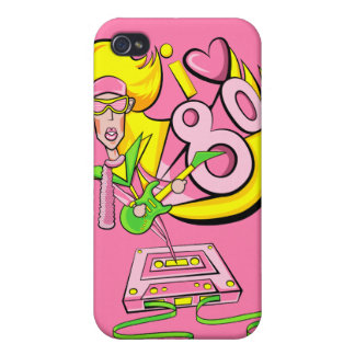 I love the 80's iPhone 4 case