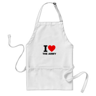 I Love the Army Standard Apron