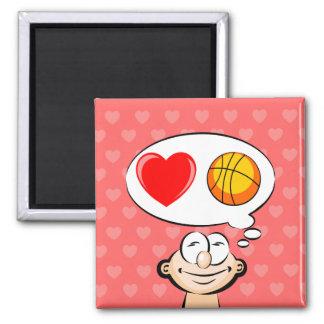 I love the basketball magnet