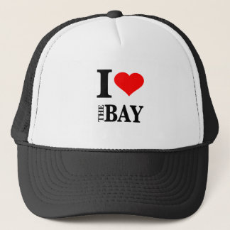 I Love The Bay Area Trucker Hat