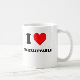 I Love The Believable Coffee Mug