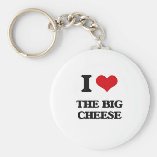 I Love The Big Cheese Key Ring