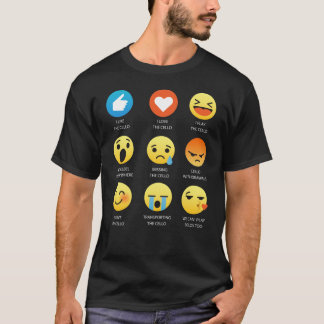 I Love the Cello Emoji Emoticon Band Nerd T-Shirt