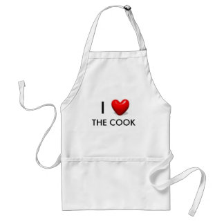 I LOVE THE COOK Apron