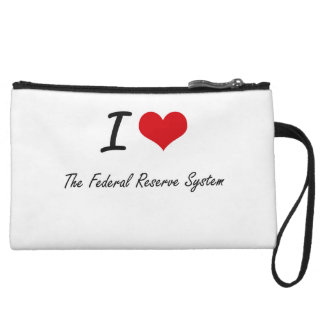I love The Federal Reserve System Wristlet Clutch