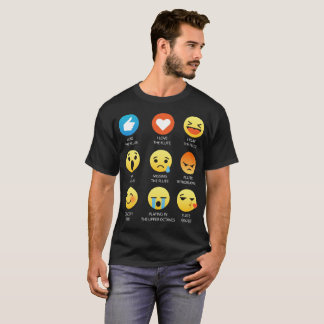 I Love the Flute Emoji Emoticon Graphic Design T-Shirt