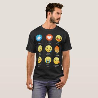 I Love The Harp Emoji Emoticons Graphic Design T-Shirt