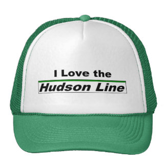 I Love the Hudson Line Hat