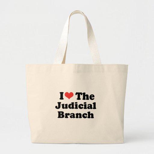 I LOVE THE JUDICIAL BRANCH - .png Canvas Bag