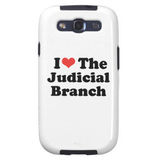 I LOVE THE JUDICIAL BRANCH - png Galaxy S3 Cover