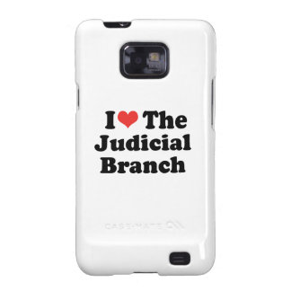 I LOVE THE JUDICIAL BRANCH - .png Samsung Galaxy SII Covers