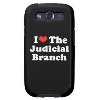 I LOVE THE JUDICIAL BRANCH png Samsung Galaxy S3 Covers