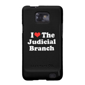 I LOVE THE JUDICIAL BRANCH png Samsung Galaxy S Case