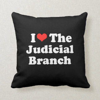 I LOVE THE JUDICIAL BRANCH png Pillow