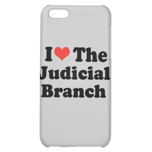 I LOVE THE JUDICIAL BRANCH - .png Case For iPhone 5C