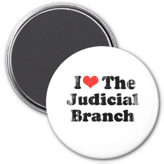 I LOVE THE JUDICIAL BRANCH png Refrigerator Magnets