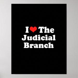 I LOVE THE JUDICIAL BRANCH png Print
