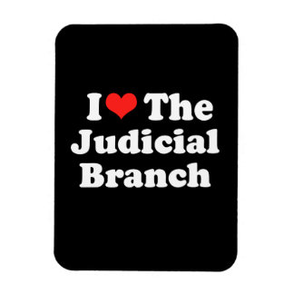 I LOVE THE JUDICIAL BRANCH png Magnets