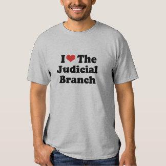 I LOVE THE JUDICIAL BRANCH - .png Tshirts