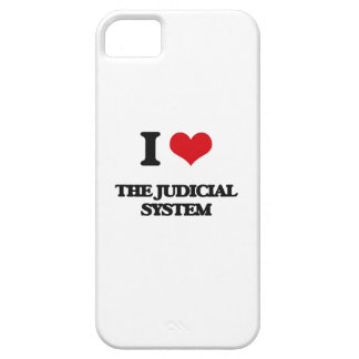 I Love The Judicial System iPhone 5 Cover