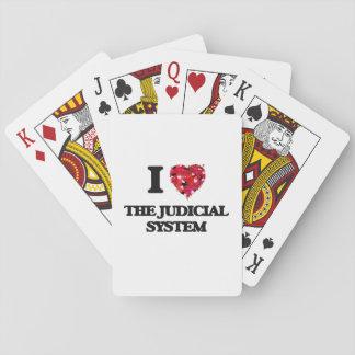 I love The Judicial System Poker Cards
