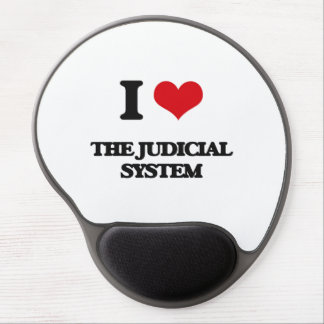 I Love The Judicial System Gel Mouse Pad