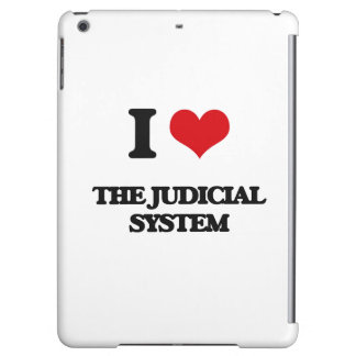 I Love The Judicial System Cover For iPad Air