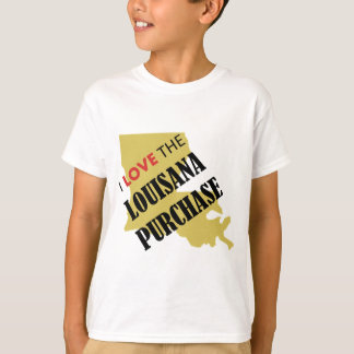I Love the Louisiana Purchase T-Shirt