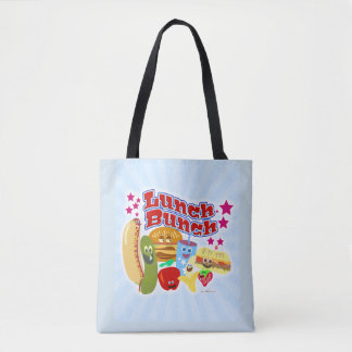 I Love The Lunch Bunch Tote Bag