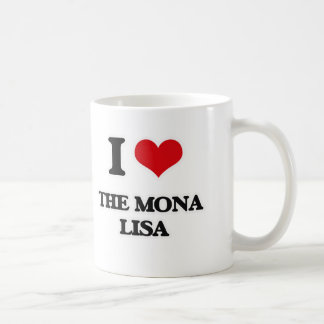 I Love The Mona Lisa Coffee Mug
