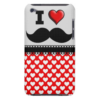 I Love the Mustache Moustache Stache iPod Case-Mate Case