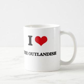 I Love The Outlandish Coffee Mug